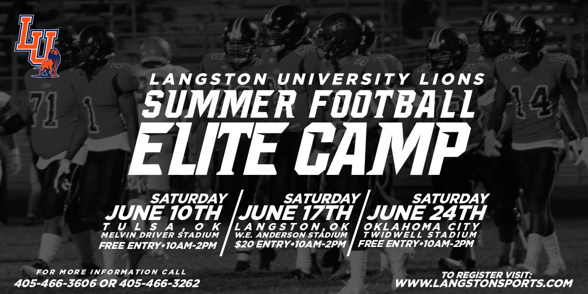 Summer Football Elite Camp