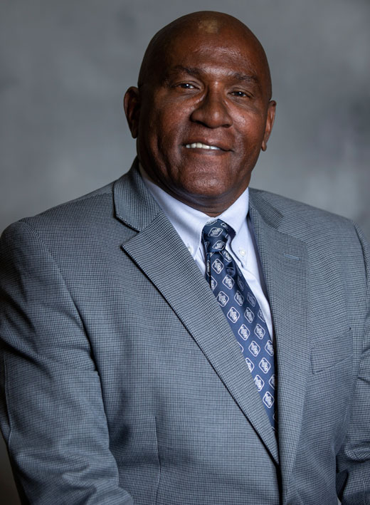 Langston University Faculty Senate Chair Michael Hamilton
