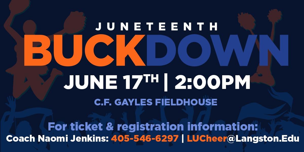 Juneteenth Buckdown Event