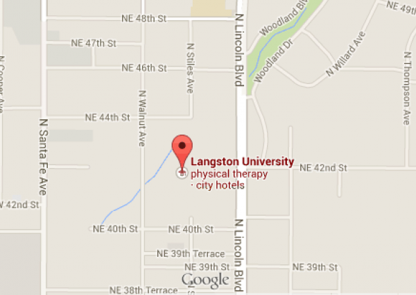 Langston University Campus Map.Langston Okc Resources Langston University