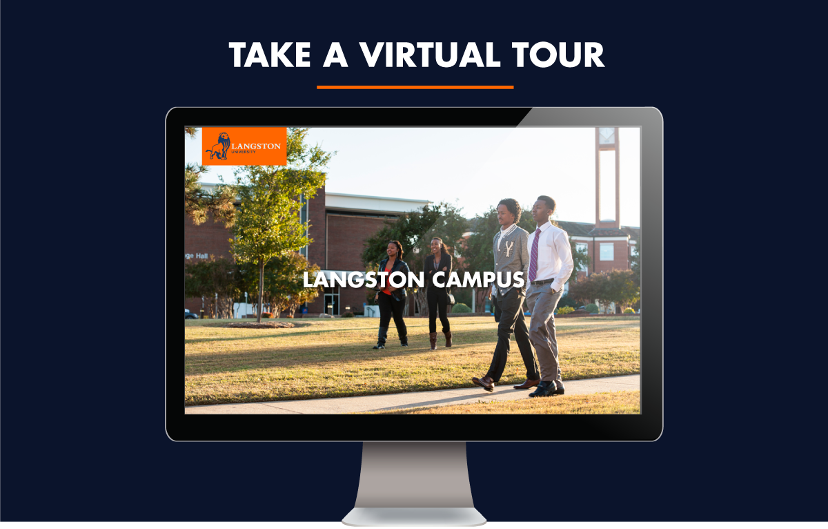 Langston University Campus Map.Campus Maps Directions Langston University